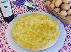 Torta rustica fatta con pasta brisée e ripieno di porchetta e scamorza affumicata...  #food #foodblogger #foodblog