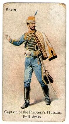 Wills's Cigarettes - Soldiers of the World - 1895 Military Units, Military Figures, Military Art, Military History, Military Fashion, Army Uniform, Military Uniforms, Cigarette Brands, Arm Guard