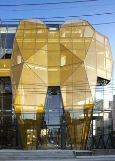 The Yellow Diamond / Unsangdong Architects + Jun Mitsui & Associates Architects