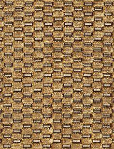 Pollack Checkered Velvet dark honey