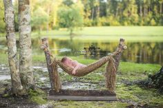 Country Lane Newborn Prop Hammock with Stand (The Original!) / Woodsy Wonders Props & More