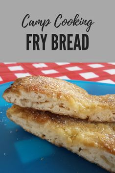 From the Camp Cooking series on my blog, my attempt at fry bread!