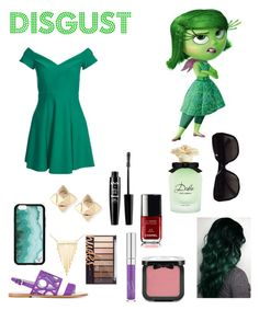 """""""Summer Style : Disgust"""" by dawndreader ❤ liked on Polyvore featuring Disney, Pollini, Valentino, Simone I. Smith, NYX, Dolce&Gabbana and Chanel"""