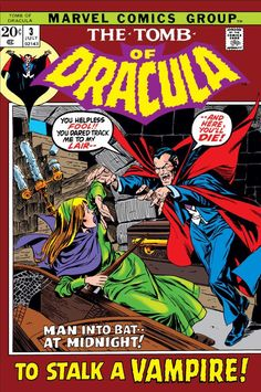 Tomb of Dracula #3 - Who Stalks the Vampire? (Issue)