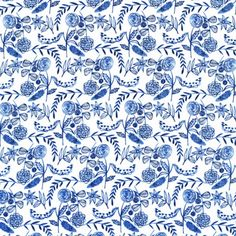 Moody Blues VOILE Floral White