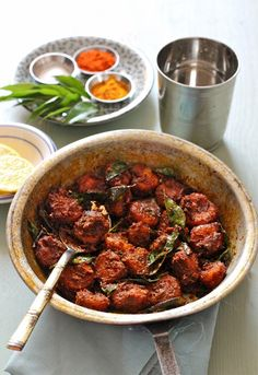 Plateful: Kerala Style, Spiced, Aromatic Prawn Roast — Chemmeen Roast