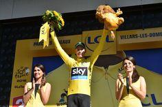 Tour de France 2016 - 16/07/2016 - Etape 14 - Montélimar/ Villars-les-Dombes parc des oiseaux (208,5km) - FROOME Christopher (TEAM SKY) - Avec le maillot Jaune © ASO/P.Ballet