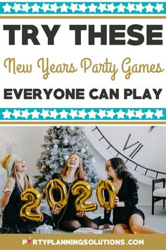 Another year has come and gone, but before the ball drops, it's time to celebrate! Keep guests amused with New Years party games and other enjoyable activities. We've got all the exciting ideas you need to ensure a memorable evening. #newyears #newyearseveparty #partygames #partyideas