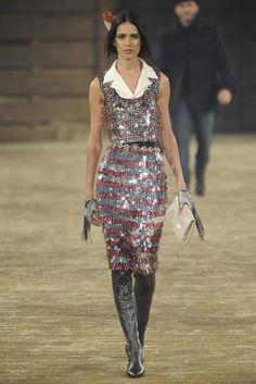 Leather & Sparkles &Shine: Chanel Pre-Fall 2014