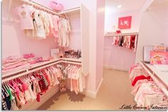 Princess Nursery Wardrobe - She is going to take over your closet :-)