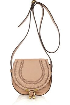 Chloé|Marcie Small leather satchel|NET-A-PORTER.COM - StyleSays