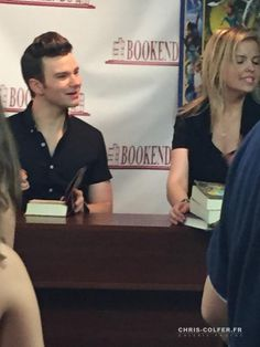 Chris Colfer attends a book signing for his new book 'The Land of Stories: Beyond the Kingdoms' at Bookends Bookstore on July 8, 2015 in Ridgewood, New Jersey.