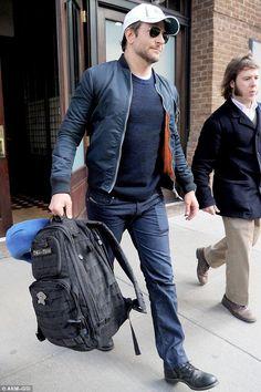 2418a3f6ec Bradley Cooper wearing Tactical Rush 24 Backpack