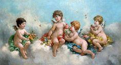 Artist Felix Francois Barthelemy Genaille (1826-1885) - Поиск в Google