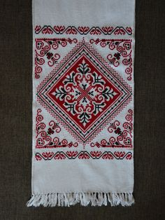 SALE!!! Handmade Ukrainian Traditional Embroidered RUSHNYK (towel) For Wedding Ceremony Or Home Decoration/Rushnik/Ukrainian Towel by aCrossUkraine on Etsy