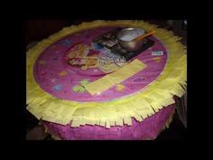 Good Video instruction on making and decorating Pinata.
