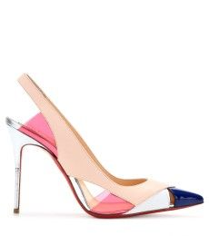 Christian Louboutin - Slingback Air Chance 100 in pelle - mytheresa.com