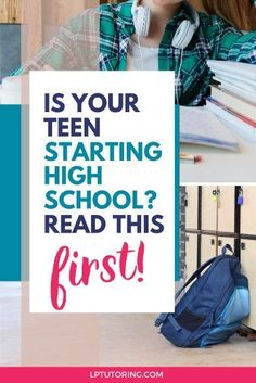 Starting high school is a big step for teens AND parents. Find out the key differences between middle and high schools. Here's to a smooth transition! | #backtoschool #parentingteens via @lptutoring