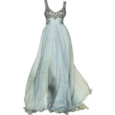 Mireille Dagher - edited by mlleemilee ❤ liked on Polyvore featuring dresses, gowns, vestidos, long dresses, green ball gown, green dress, long green evening dress and green evening gown