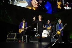 #StonesSD The Rolling Stones on stage tonight in San Diego, opening the ZIP CODE tour of North America Photos by Kevin Mazur