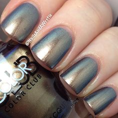 """Color Club """"Cash Only"""" from the Oil Slick Collection."""