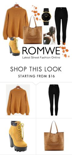 """Bez naslova #22"" by sejlabrkic ❤ liked on Polyvore featuring River Island, Wild Diva, Sole Society and Larsson & Jennings"