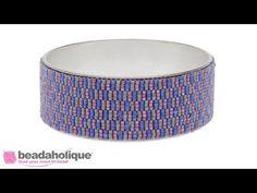 How to Do Triple Drop Peyote Bead Weaving - YouTube