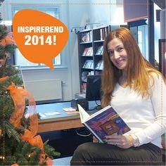 Nilay Onder | Mijn wens voor 2014 is: Heel veel geluk en heel veel zonnige dagen. Mijn inspiratie haal ik uit: Leuke boeken met mooie omslagen, de uitnodigende bibliotheek met verrassende retail-tafels,  de tevreden klanten met blije gezichten.