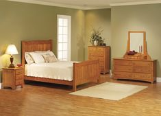 Similar furniture and wall color to our master bedroom.