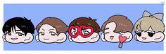 [FANART] UP10TION Wei | Kogyeol | Gyujin | Sunyoul | Hwanhee - cr:@_YOOKYOOK2