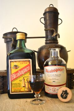 Bicabagaço® o nosso licor de café e bagaceira | Our coffee liqueuer and pomace brandy  || Products of Portugal Whiskey Bottle, Portugal, Make It Yourself, Drinks, House, Angels, Drinking, Beverages, Home