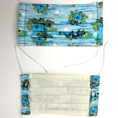 Use promo code PYPMASK4(4for $20) at checkout. One sewn face mask made from cotton fabric and interfacing, ready for use. Priced below materials plus labour cost. Assembledmasks should be laundered either by hand or in a garment bag to preserve the elastic. ***THESE MASKS ARE NOT RATED OR TESTED FOR PERFORMANCE, BUT Blue Hawaiian, Mask Shop, Mask Making, Labour Cost, Cotton Fabric, Personalized Items, Preserve, Face, Masks