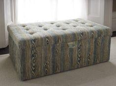 The sofa.com Gabriel footstool in designer fabric - starts at $710