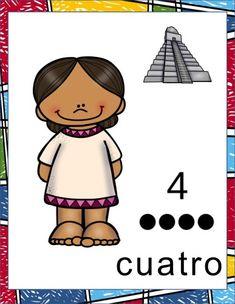 Los mayas idearon un sistema de numeración como un instrumento para medir el tiempo y no para hacer cálculos matemáticos. Por eso, los números mayas tienen que ver con los …
