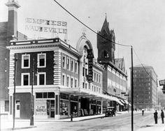 RKO Keith's/ Empress Theater, 113-121 Lyon St NW - c. 1920 Mi Photos, Grand Rapids Michigan, Detroit, The Past, Street View, History, Architecture, Lyon, 1920s
