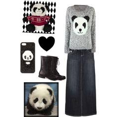 Panda bear❤