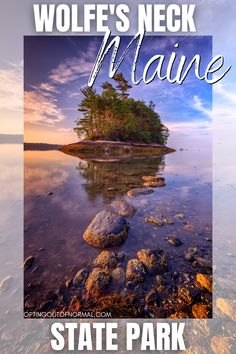 If you're looking for things to do in Maine while on vacation or a weekend road trip, check out our unique places to see. Wolfs Neck State Park is a beautiful place to explore. Travel to Maine and see more than just Bar Harbor and Portland. Perfect place to see in the Winter, Fall, Summer or Spring. Bring the family for a great vacation destination, and explore all the hidden gems we found.