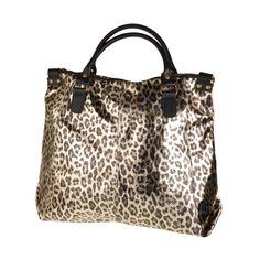 Leopardo Złoty cena: 513,30 PLN Gym Bag, Diaper Bag, Bags, Fashion, Dinner, Handbags, Moda, Dime Bags, Diaper Bags