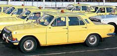 GAZ-24 Taxi - YELLOW CAR I like to pay homage to the Yellow taxis of the world !  https://www.linkedin.com/pulse/finallyhere-jan-ovland - enjoy ! - janovland@gmail.com
