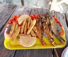 Fish, festival, bammy and seaside!