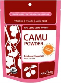 Navitas Naturals Camu Powder contains a wide range of antioxidants and other phytonutrients. Camu has a tart berry flavor, and a small spoonful of this superfood powder is a perfect vitamin-rich addition to juice, smoothies, or yogurt. Health And Nutrition, Health And Wellness, Health Care, Amazon Auto, Natural Vitamin C, Superfood Powder, Organic Superfoods, Antioxidant Vitamins, Natural Supplements