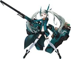 GoBoiano - Anime and Video Game Studios Combine to Make an Augmented Reality… Female Character Design, Character Design Inspiration, Game Character, Character Concept, Sci Fi Anime, Frame Arms Girl, Robot Girl, Anime Weapons, Robot Concept Art