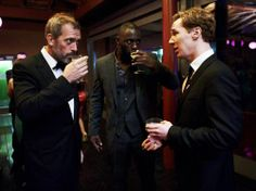 My 3 fave Brits: Hugh Laurie, Idris Elba and Benedict Cumberbatch aka House, Luther and Sherlock Holmes Hotness to the third power! Hugh Laurie, Benedict Cumberbatch, Sherlock Cumberbatch, Gregory House, Freddie Mercury, Good People, Pretty People, Amazing People, Beyonce