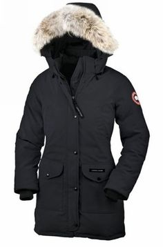 Canada Goose Outlet Trillium Parka Women Black Enjoy 100% Satisfaction - $309