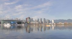Loopable Scenery for your TV - Vancouver BC Place 5 minutes HD scenery