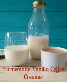 I've been looking for a way to cut out my totally unnatural coffee creamer! This might just be the solution!