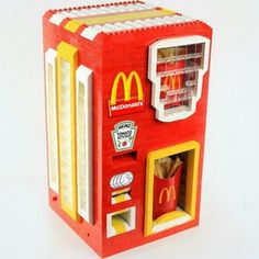 Here's the LEGO McDonald's Fries Dispenser of Your Fast-Food Fantasies