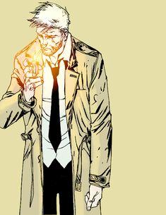 Constantine in Hellblazer #300
