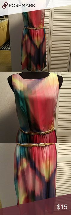 RONNI NICOLE DRESS SIZE 10 Pre owned in good condition but does show light wear . Length from waist is 22 inches. Ronni NICOLE  Dresses
