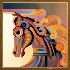 Caballo Painting  - Caballo Fine Art Print